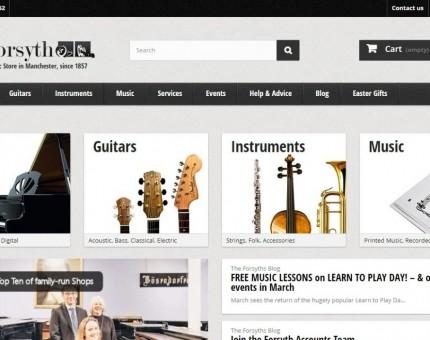 Forsyth Music Shop