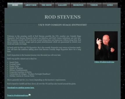 Rod Stevens Stage Hypnotist