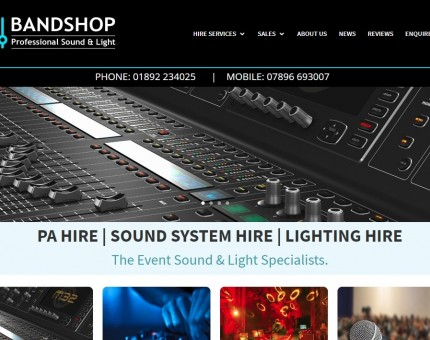 Bandshop Sound & Light